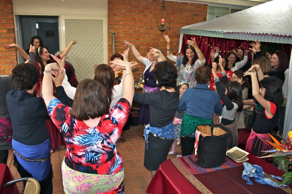 Belly Dance Hens Night Melbourne