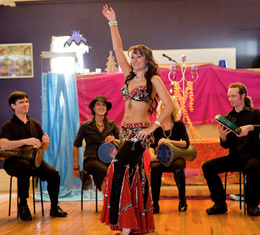 Belly dancer Melbourne